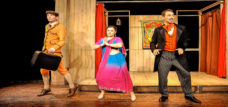 Around the World in 80 Days at Theatre du Splendid