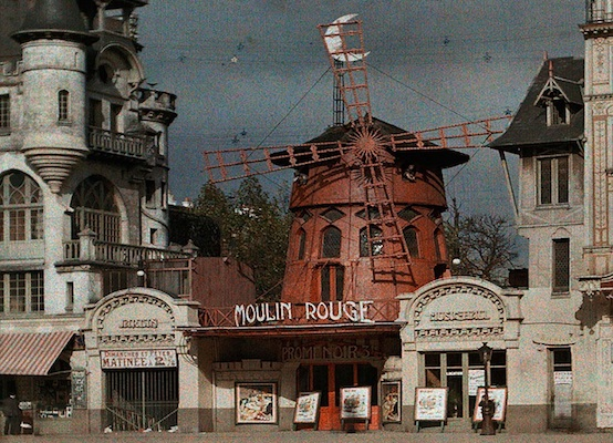 The original building of the Moulin Rouge