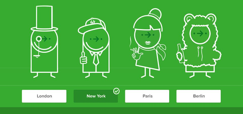 Citymapper city icons