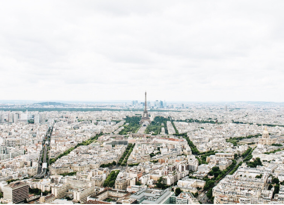 eiffel tower montparnasse view
