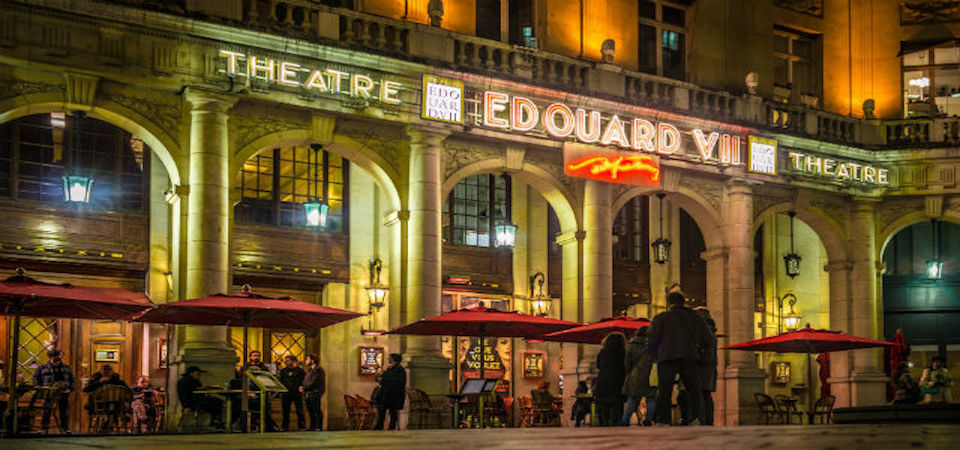 Théâtre Edouard VII, a historic theatre in Paris' theatre district