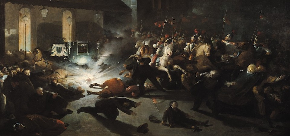 Assassination attempt of Napoleon III