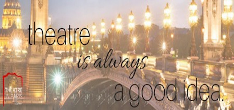 """Theatre is always a good idea"""
