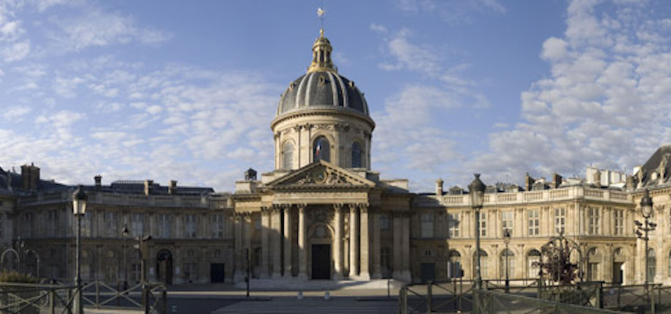 The Institut de France, still home to the Académie française