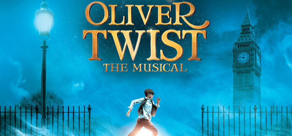 oliver twist musical poster