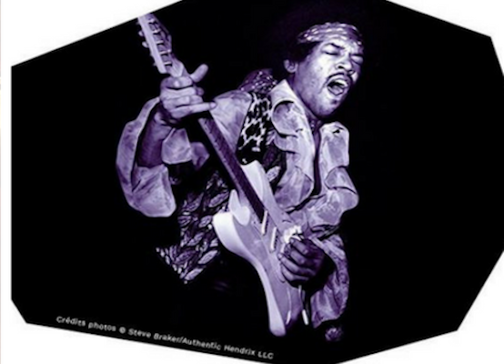 Jimmy Hendrix at Olympia de Paris