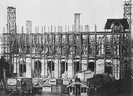 Construction of the Palais Garnier