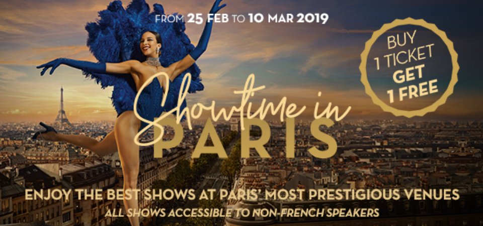 showtime in paris march 2019