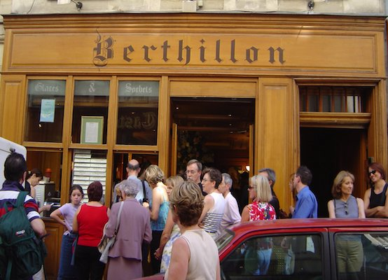 Berthillon icecream shop