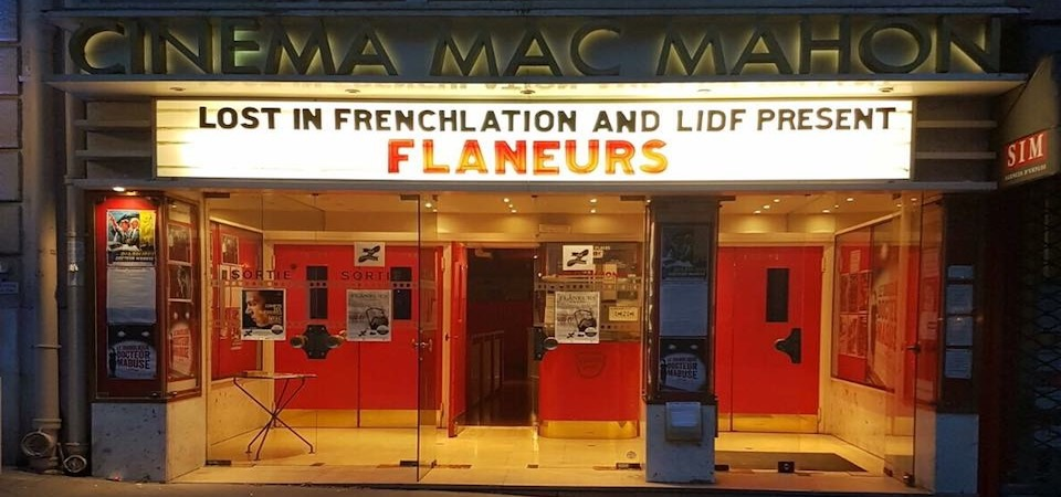 Cinema showing a Lost in Frenchlation film