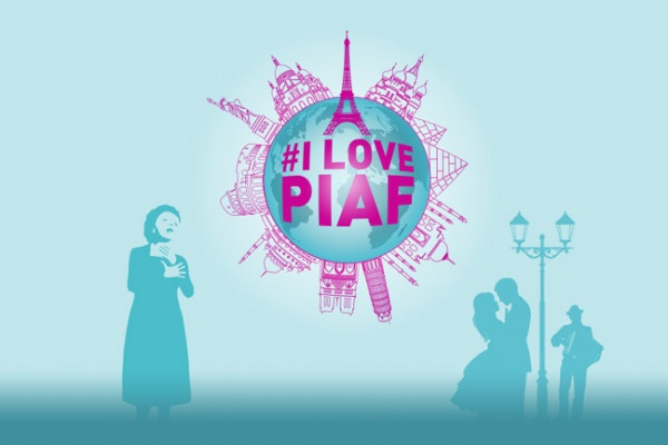 I love Piaf show paris