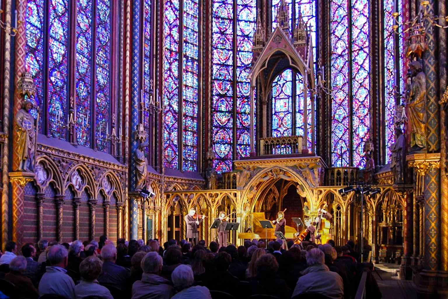 Concert in the Sainte-Chapelle