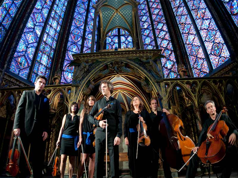Performers at Sainte-Chapelle