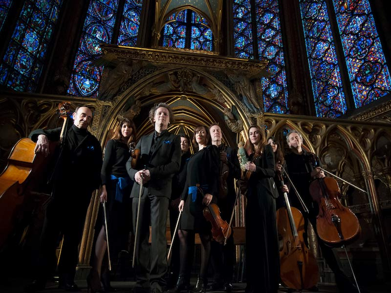 Performers at the Sainte-Chapelle