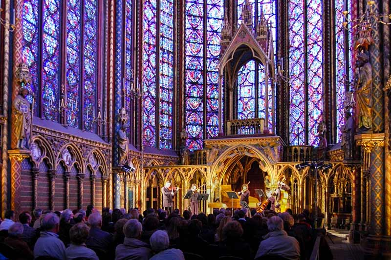 Sainte-Chapelle interior