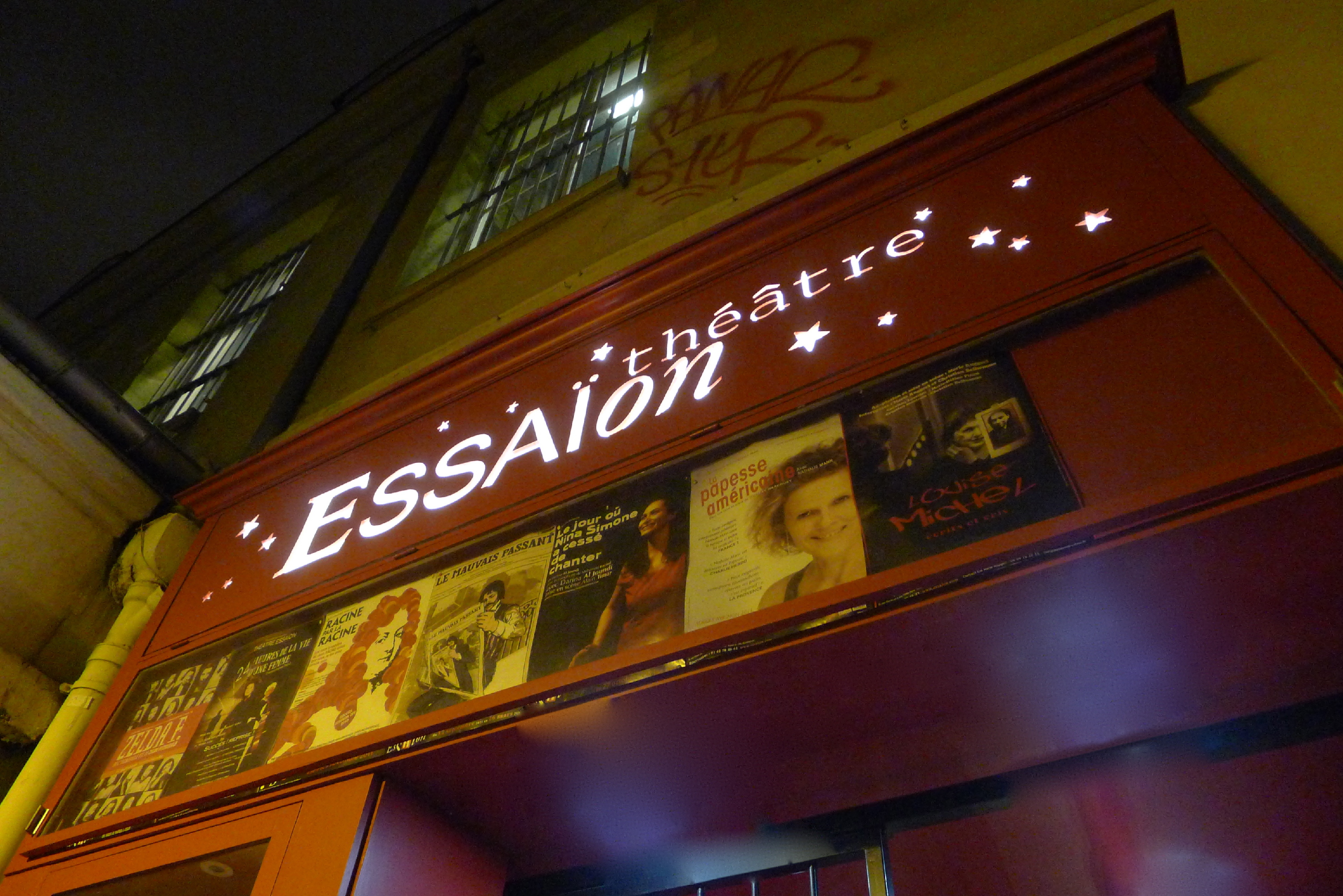 theatre essaion paris marais